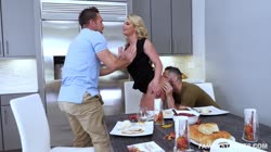 FamilyStrokes - Phoenix Marie - Army Boy Meets Busty Stepmom For Thanksgiving