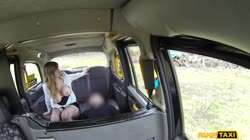FakeTaxi - Madison Stuart - Busty passenger gives good tit wank