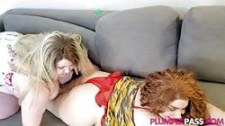 Plumperpass Velma Voodoo And Kiwi Best Friends Cum Together
