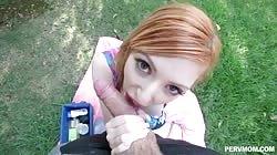 Pervmom Lauren Phillips Backyard Bone Time