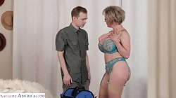 DirtyWivesClub - Dee Williams is horny and wants her husband to send her an escort