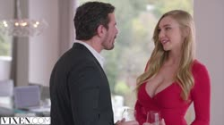 VIXEN Kendra Sunderland has sexecutive meeting with her boss